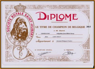 Championne de Belgique
