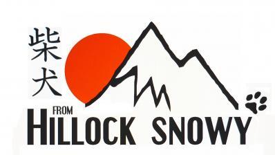Logo élevage Shiba From Hillock Snowy Belgique