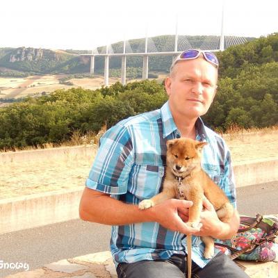 Petite pause au viaduc de Millau
